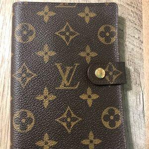 Handbags - Real Louis Vuitton address book.